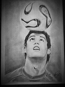Cristiano Ronaldo by Scar